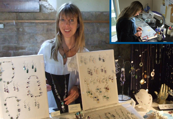 Hand-made jewellery by Dee Lodge - BlueHouse jewellery